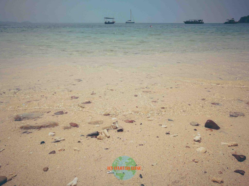 playas de isla Kapas