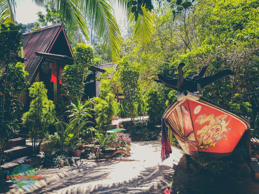 visitando las islas de Malasia