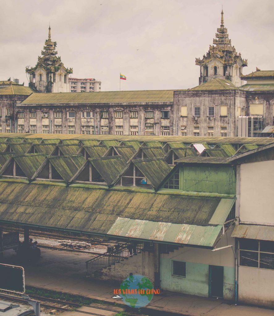 Tren circular de Yangón