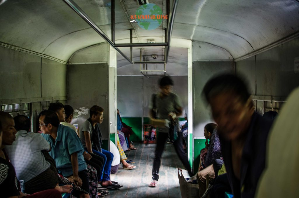 Tren de Myanmar