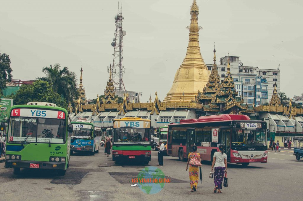 cómo moverse por Yangón