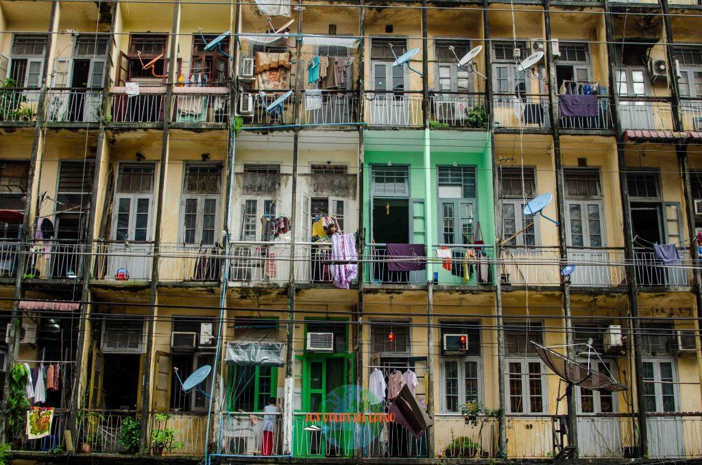 Dónde dormir en Yangón