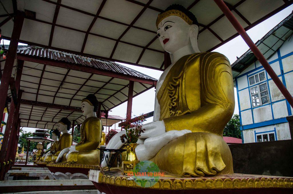 como moverse por Yangón