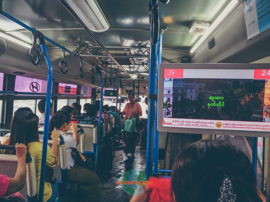 Cómo moverse en Yangón