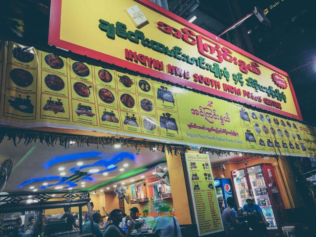 Dónde comer en Yangón