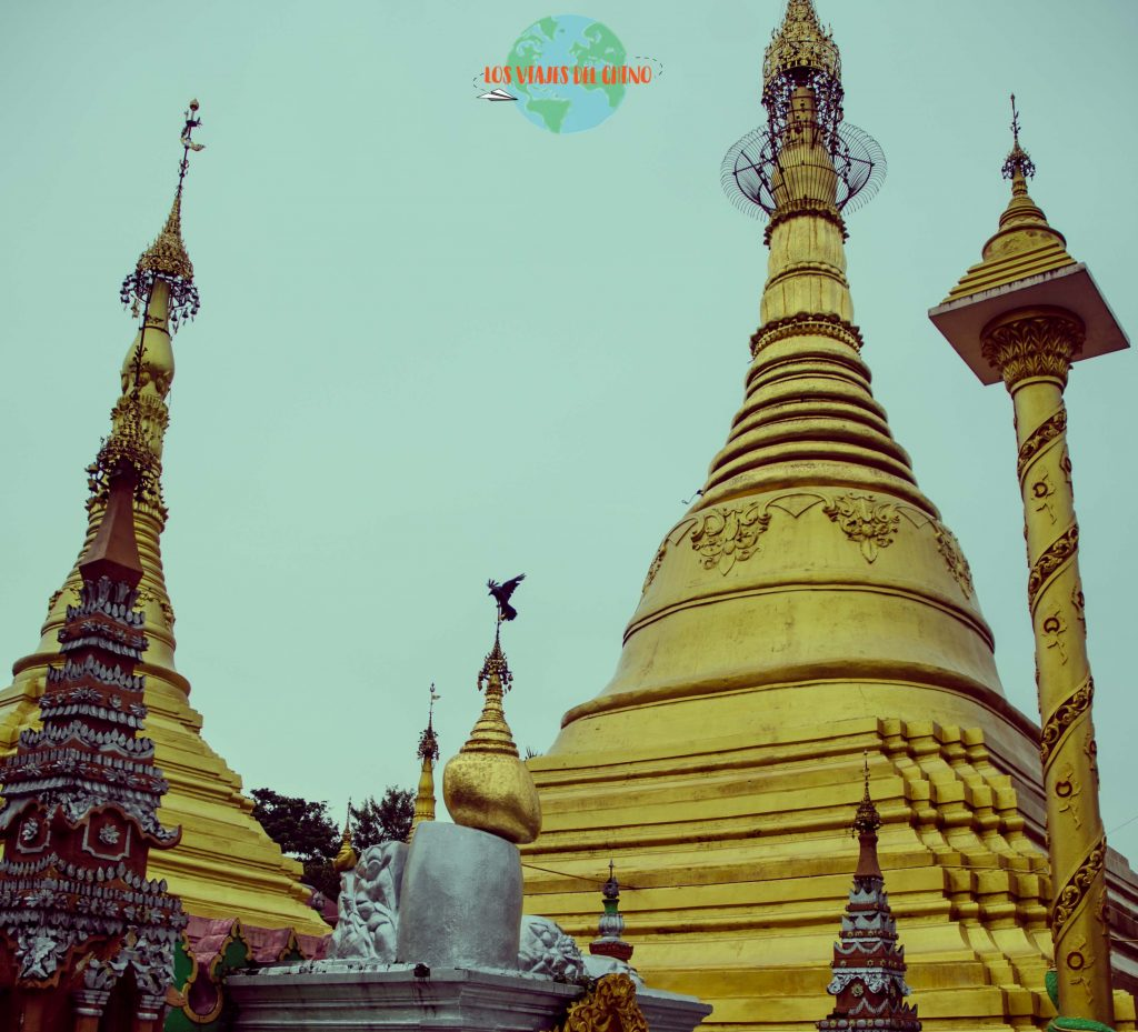 recorriendo Yangón a pie
