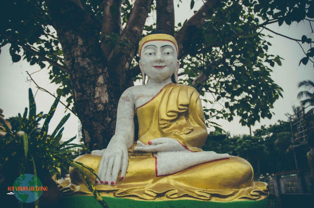templos budistas de Yangón