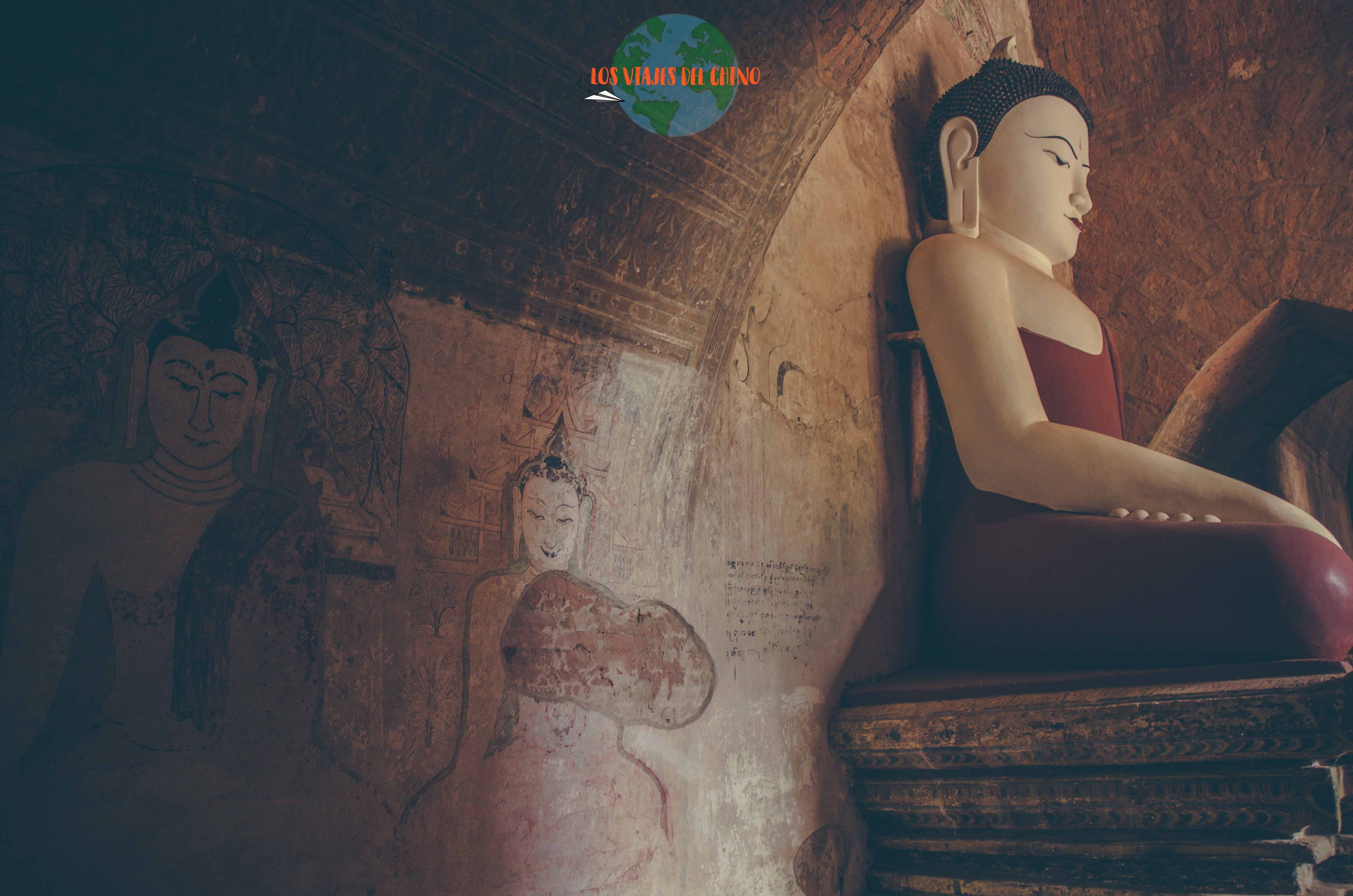los budas de Birmania