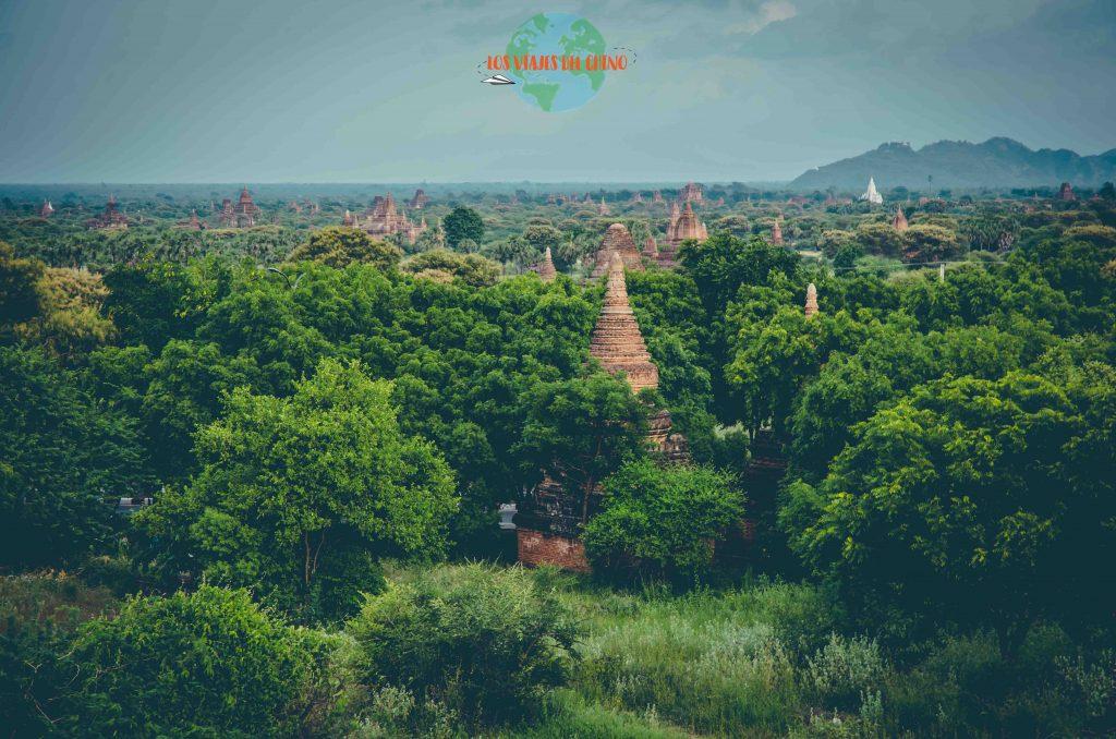 un recorrido por Bagan en Myanmar