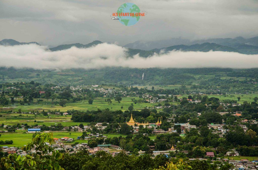 Paisajes en Myanmar