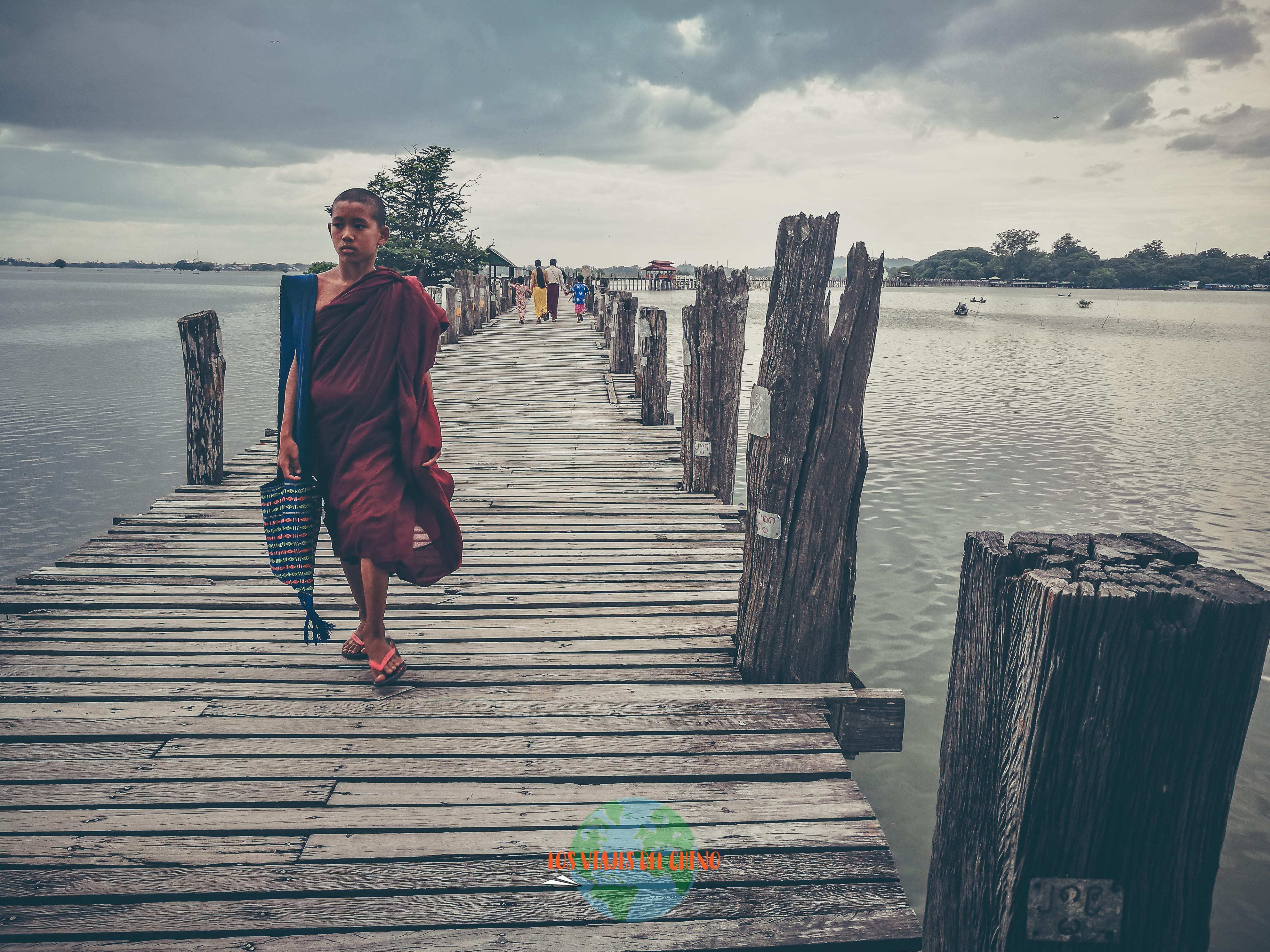 recorrido por Birmania