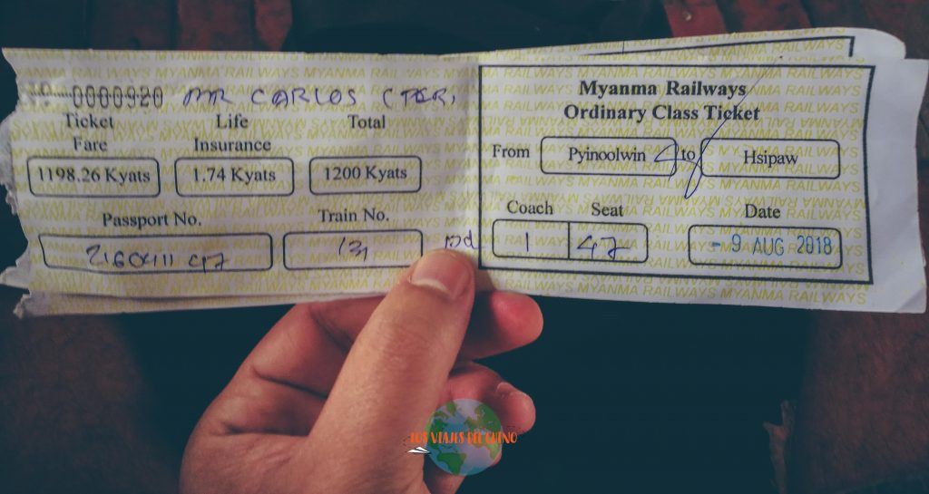 acueducto de Goteik en Myanmar