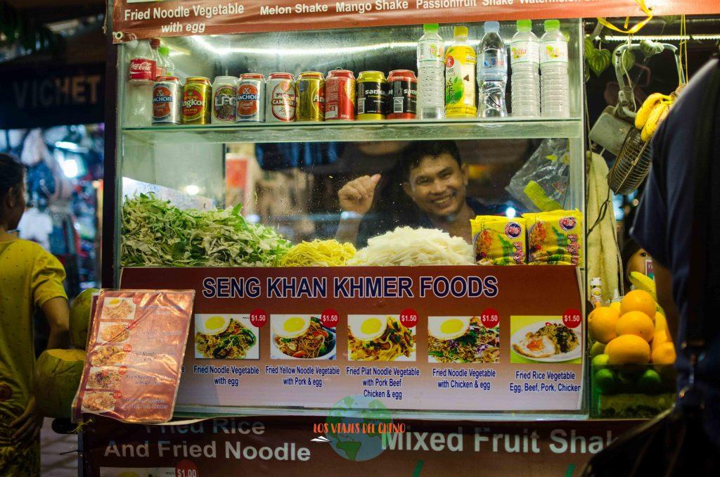 comida callejera del sudeste asiático