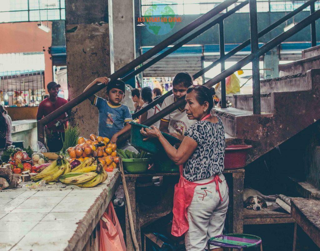 Mercado Belén, en Iquitos