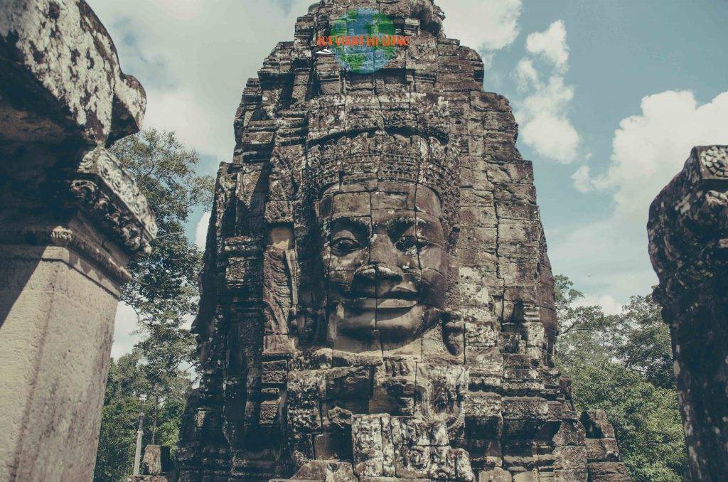 Visita las ruinas de Camboya