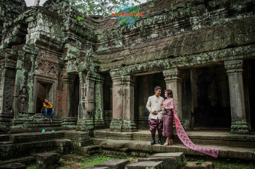 Celebrando tu boda en Angkor Wat