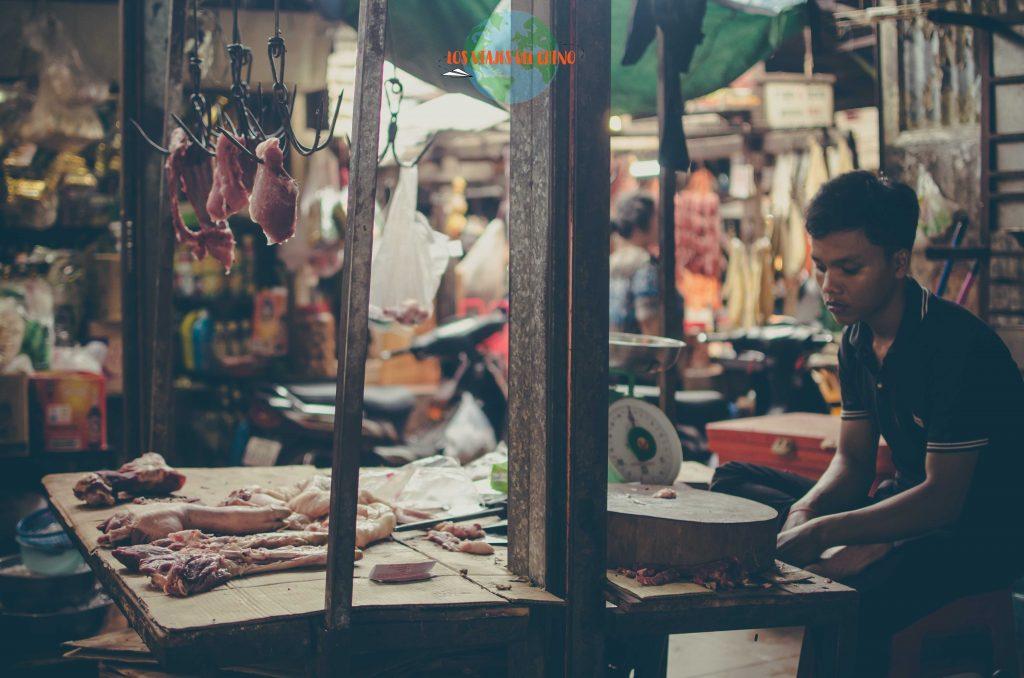 Mercados de Camboya