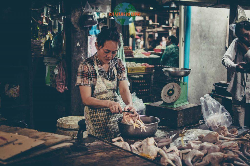 Mercados en Camboya