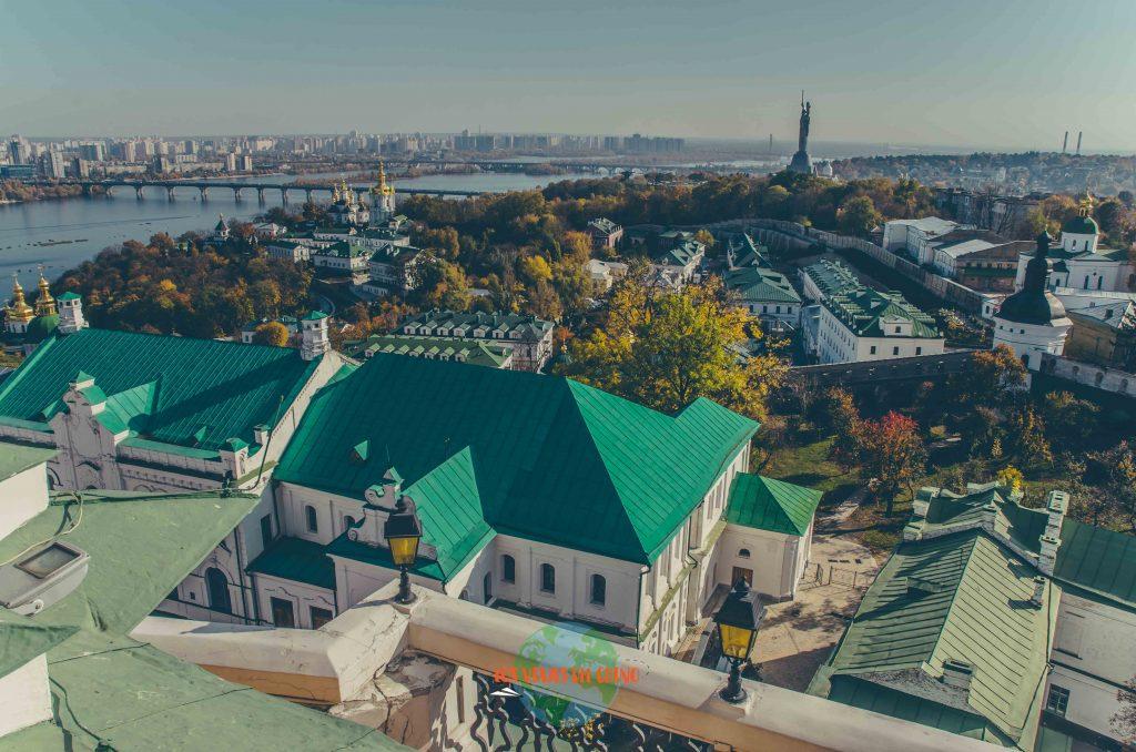 Monasterio de las Cuevas de la capital de ucrania