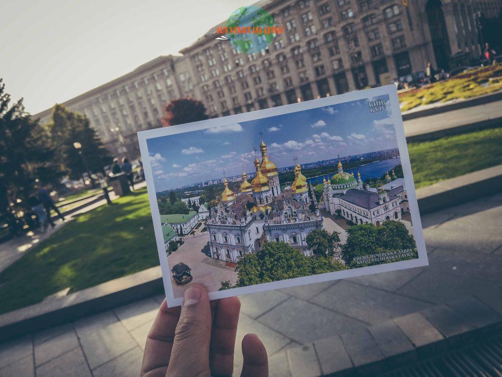 recorrer la capital de Ucrania