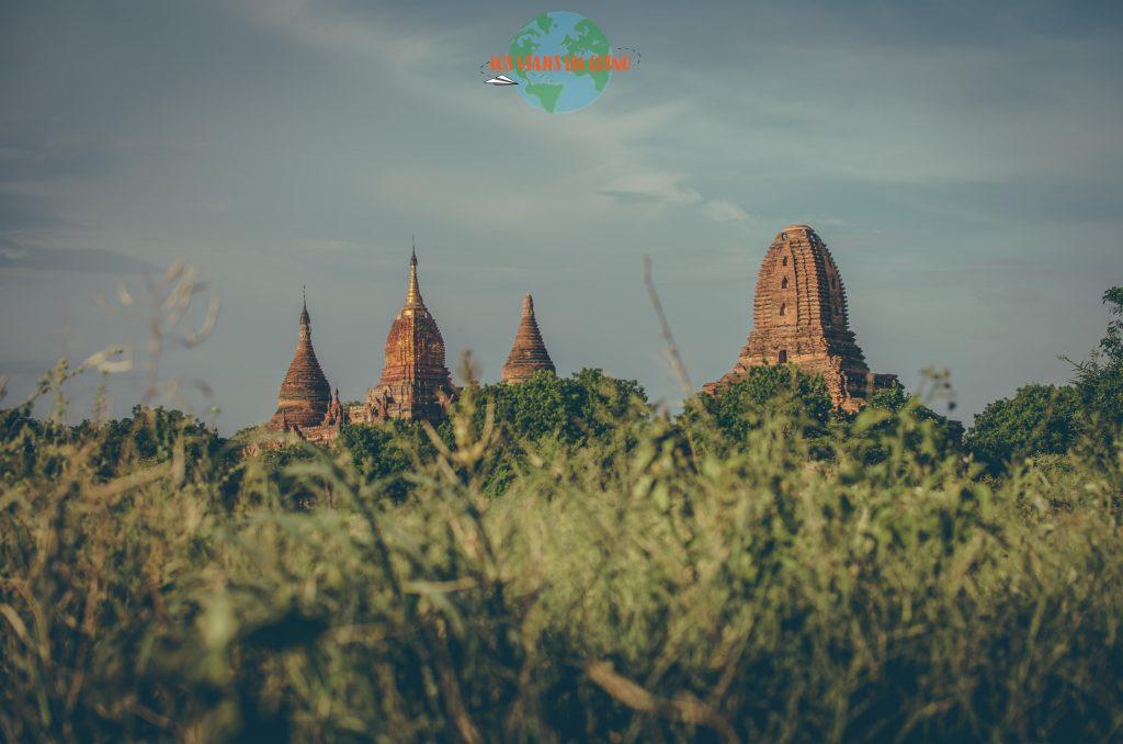 Pagoda Mingalarzedi de Bagan