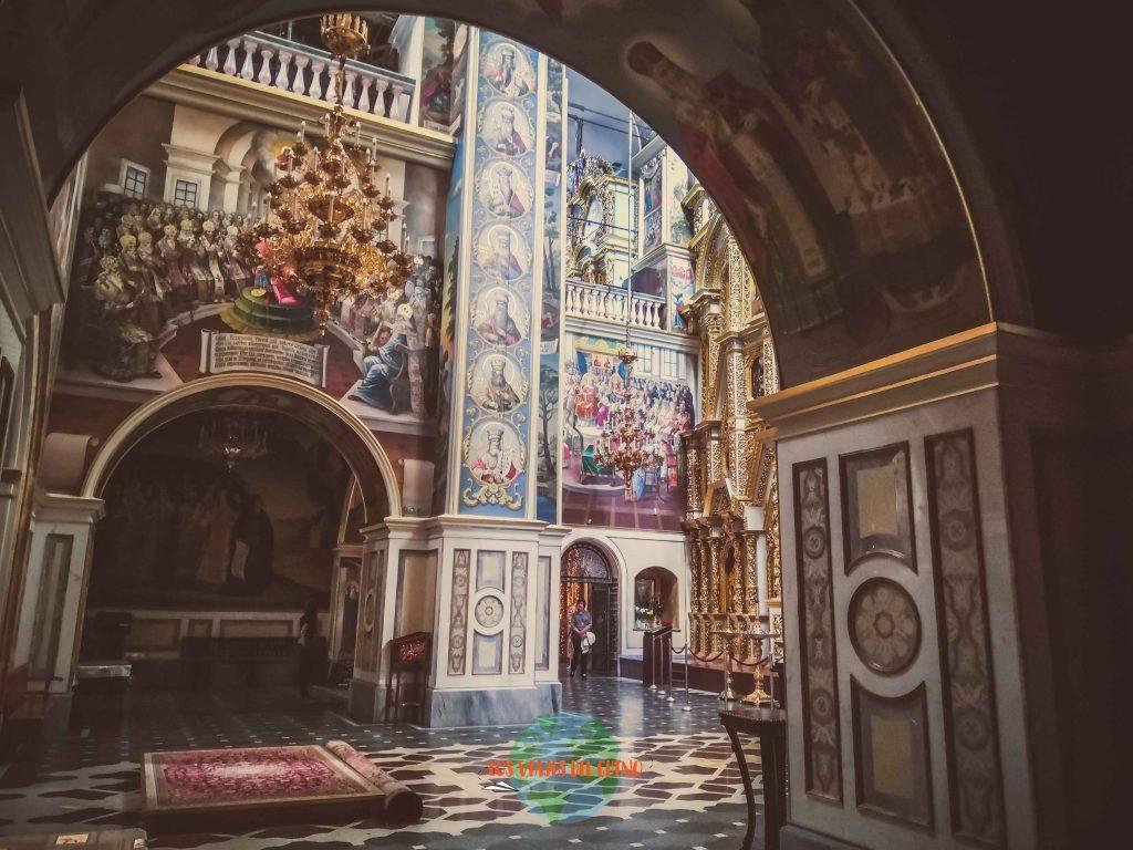 recorrer monasterios de Ucrania